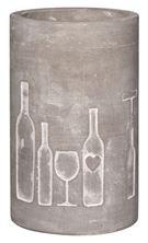 Weinkühler Vino Beton (Flaschenmotiv)