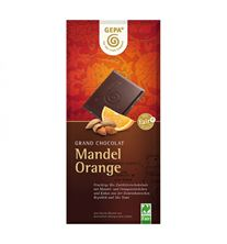 Gepa Grand Chocolat Mandel Orange 100g