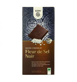 Gepa Grand Chocolat Fleur de Sel noir 100g