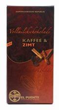 El Puente Kaffee & Zimt Schokolade 100g
